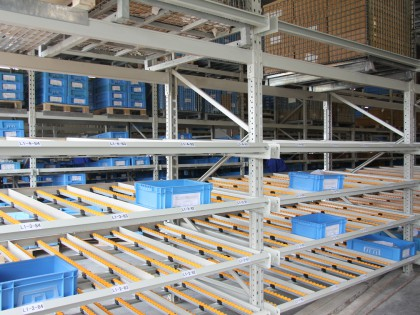 Live Storage Racking ( box ) in Jinan
