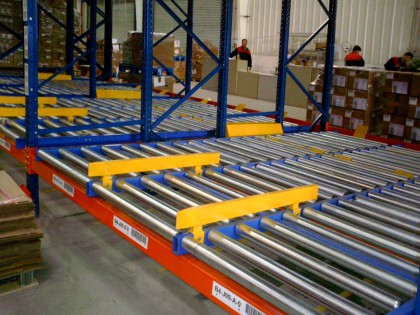 Push Back Racking System in Shanghai