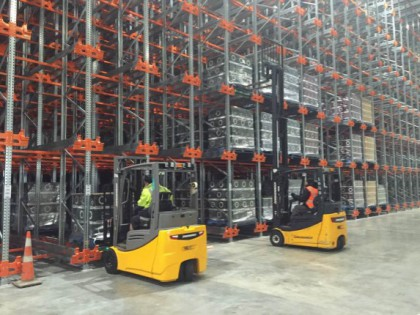 Pallet Shuttle System in New Zealand